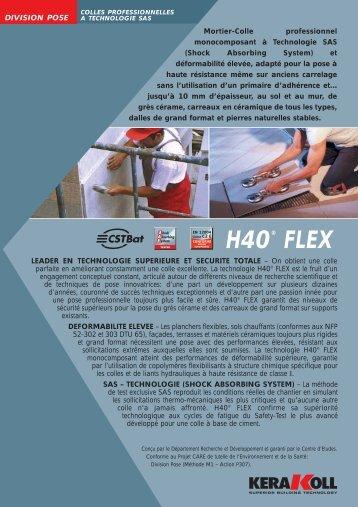 H40® FLEX - Kerakoll