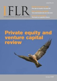 Private equity and venture capital review - IFLR.com