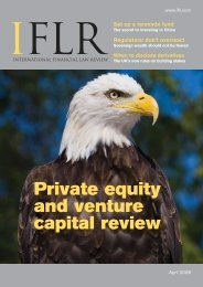 Private equity and venture capital review Set up a ... - IFLR.com