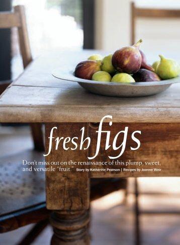 Fresh Figs - Joanne Weir