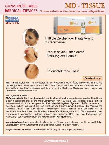 MD Ampulle fuer Injektionen - Mesowelt
