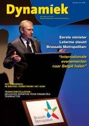 """""""Internationale evenementen naar België halen"""" - BECI"""