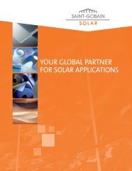 A Global Partner brochure - Saint-Gobain Performance Plastics PV ...