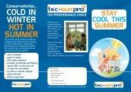 Tec-Sun Pro Tri-Fold - Merit Blinds