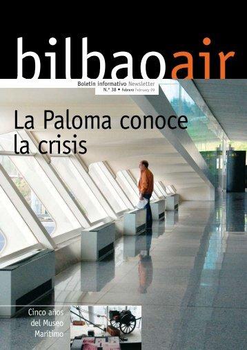 Boletín Informativo Newsletter N.º 38 • Febrero February ... - Bilbao Air