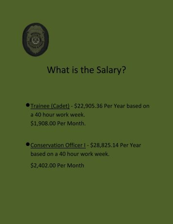 What is the Salary?