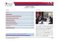 Provinz - Europa / Newsletter n.15 – luglio 2010 - Catch-MR