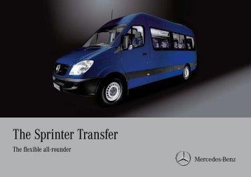 The Sprinter Transfer - Mercedes-Benz