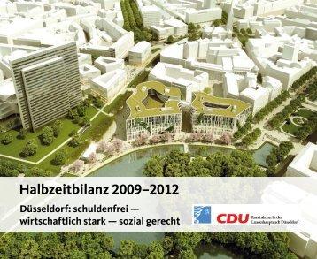 Halbzeitbilanz 2009–2012 - CDU Düsseldorf
