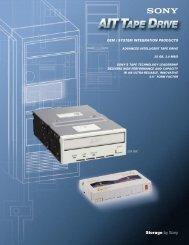 Sony AIT-1 Data Sheet - Avax International
