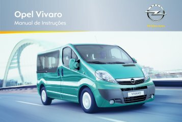 Manual Opel Vivaro 2012 - Opel Portugal