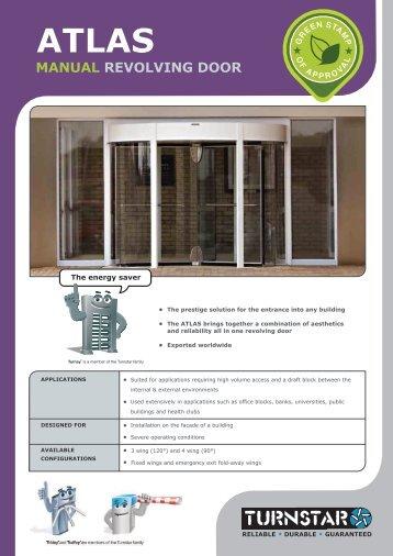 atlas manual revolving door