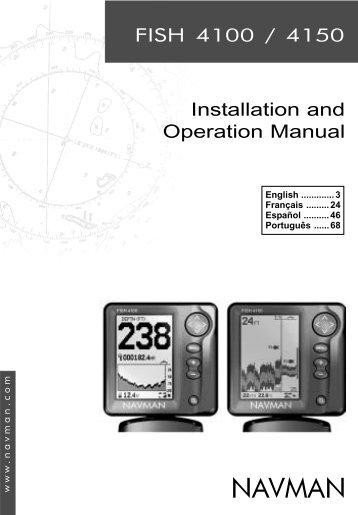 FISH 4100 & 4150 manual (En+Fr+Sp+Po).pmd - Navman Marine