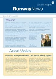 Edition Two - February 2006 - London City Airport
