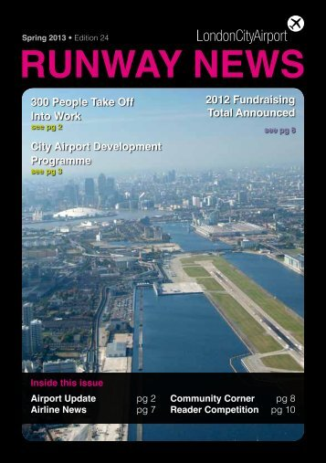 Edition Twenty Four - Spring 2013 - London City Airport