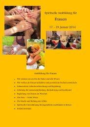 Ausbildung für Frauen
