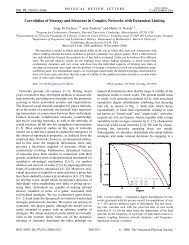 Coevolution of Strategy and Structure in Complex Networks with ...