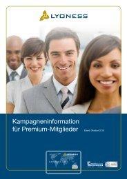 Kampagneninformation für Premium-Mitglieder Stand ... - Lyoness