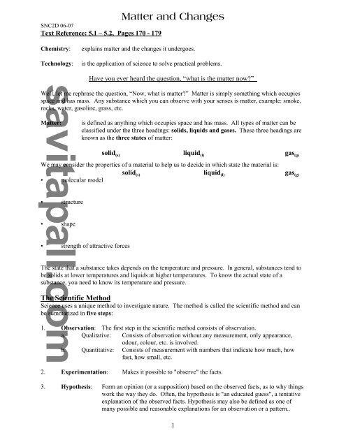 Matter _Changes_5 1 pdf - Savita Pall and Chemistry