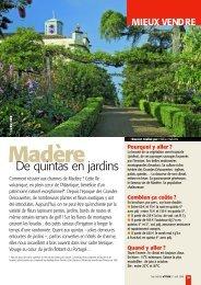 PDF :Portugal Madère