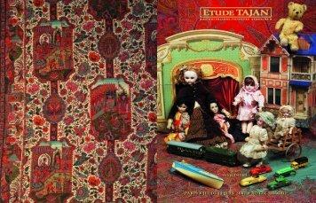 Jouets, poupées, dentelles, rideaux... - Tajan