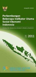 Perkembangan Beberapa Indikator Utama Sosial-Ekonomi Indonesia