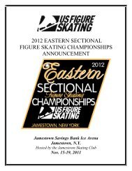 2012 Eastern Sectional Announcement - US Figure Skating