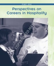 Perspectives on Careers in Hospitality Perspectives on ... - Wiley