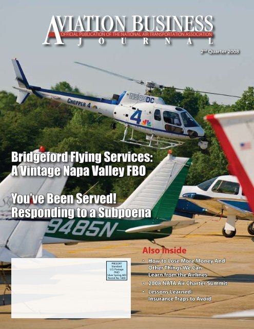 Bridgeford Flying Services: A Vintage Napa Valley FBO You