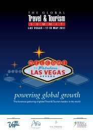 powering global growth - Global Travel & Tourism Summit