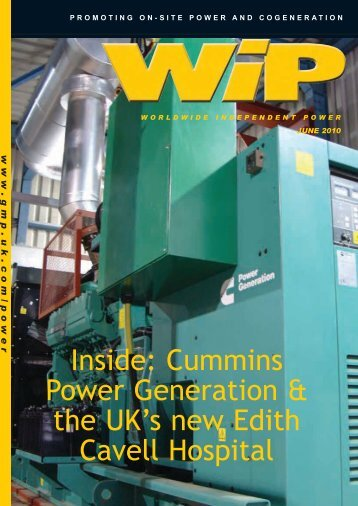 Cummins Power Generation & the UK's new - Global Media ...
