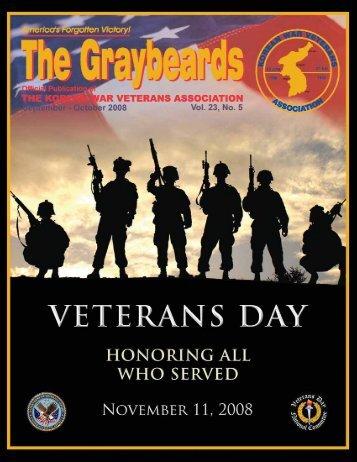 Sep/Oct 2008 - Korean War Veterans Association