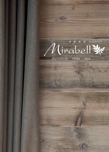 alpinstyle - relax - spa - Alpenresidence Hotel Mirabell