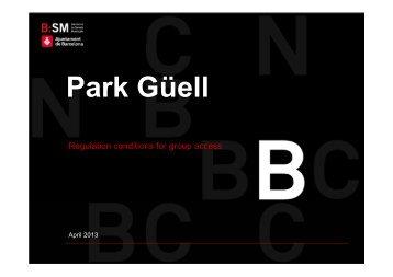 Park Güell - Turisme de Barcelona