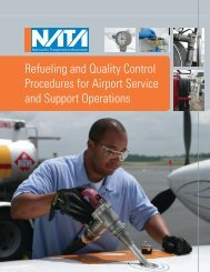Refueling and Quality Control Procedures for Airport Service ... - NATA