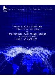 ab sürecinde türkiye'de bilişim ve telekomünikasyon ... - Telkoder