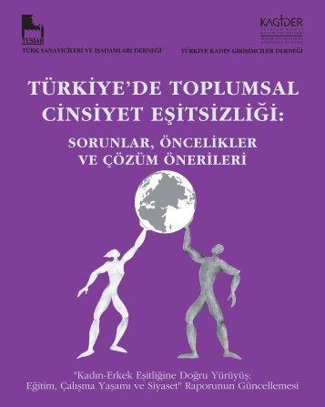 Türkiye'de Toplumsal Cinsiyet Eşitsizliği
