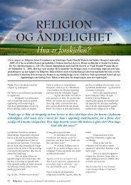 Religion og åndelighet -hva er forskjellen - Neale Donald Walsch