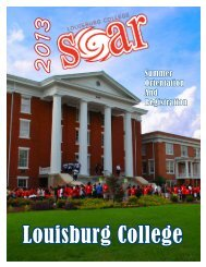SOAR Guide - Louisburg College