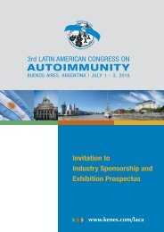Sponsorship & Exhibition Prospectus - Kenes Group