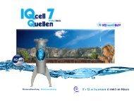 IQcell Water Basis Prospekt