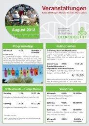 August 2013.indd - Eilenriedestift