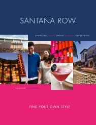 FINd YOuR OwN STYLE - Santana Row
