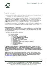 FSC GA 2008 motions ENG.pdf - Forest Stewardship Council