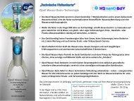 IQcell Wasser Basis–Technologie