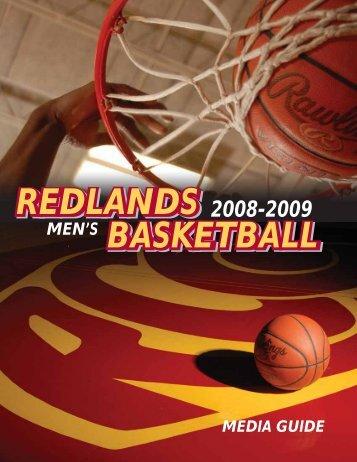 Download Men's Media Guide 08-09 - Redlands Community College