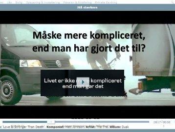 Ikke et ord om Danske Bank – næsten da
