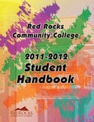 Student Grievance Procedure - Red Rocks Community College
