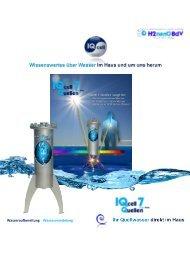 IQcell Wassertechnologie und mehr ...