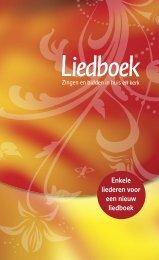 Proefbundel Nieuwe Liedboek - Welkom op de website van de ...